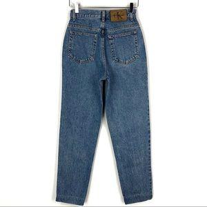 Vintage Calvin Klein High Rise Ankle Mom Jeans 24